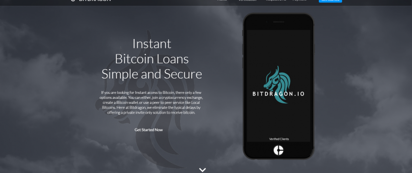 BITDRAGON.IO  – PRIVATE SECURE INSTANT BITCOIN LOANS