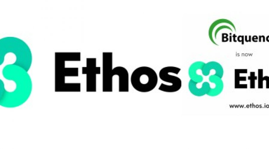 BITQUENCE IS NOW ETHOS – REMEMBER THIS NAME ITS GOING TO BE A GAME CHANGER