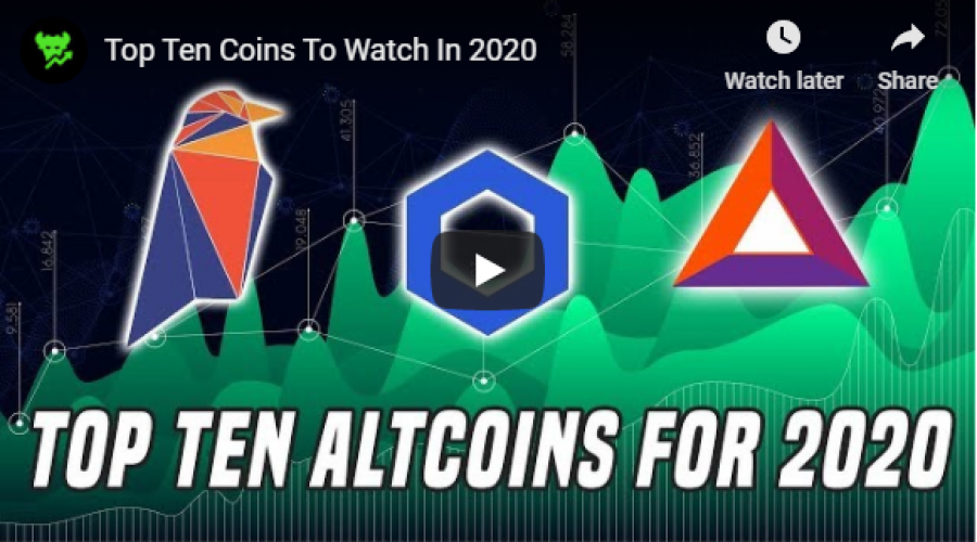 Data Dash Top 10 Altcoin Picks 2020