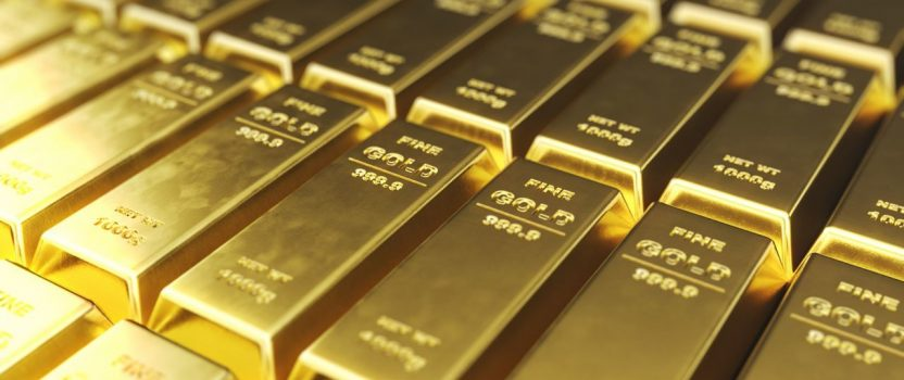 Gold Reaches a 6 yr High as Investors Look for Safety Net